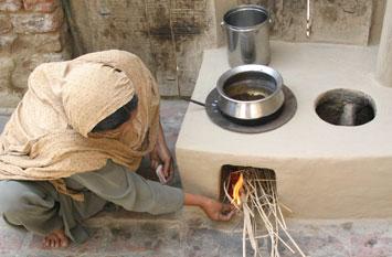 Fuel efficient stoves in Pakistan
