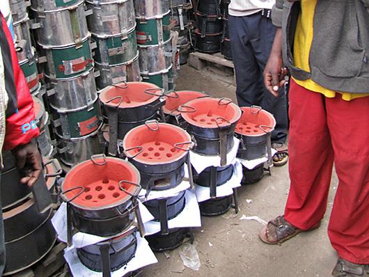 Ceramic Jiko Stove in Kenya