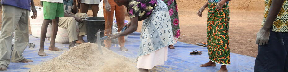 Ghana drought agriculture